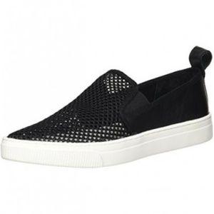 DOLCE VITA Womens Black Geoff Slip-on Sneakers 7.5